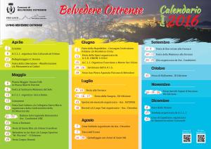 Programma appuntamenti belvederesi per il 2016